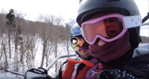 Nevada's Chairlift Snacks with Sadie Elliott at Pico Mountain, Vermont